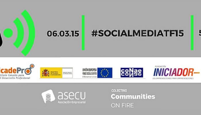 BlogsterApp, ponente en #SocialMediaTF15