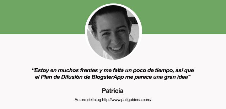 Entrevista a Patricia, autora del blog Patigubieda