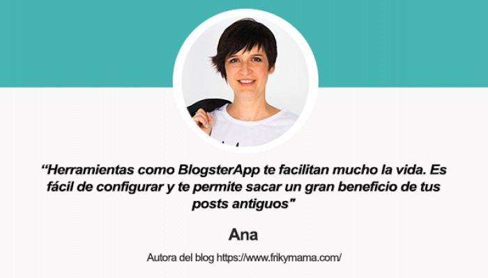 Entrevista a Ana, de Frikymama