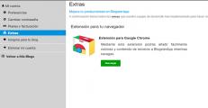 Interfaz de Usuario de BlogsterApp - Extras