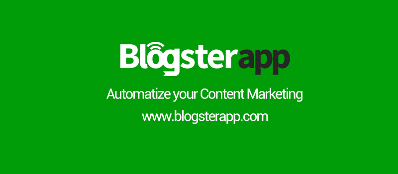 Getting Started with BlogsterApp