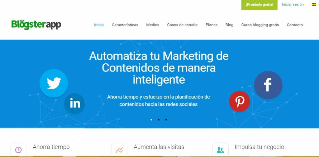 automatización de difusión de contenidos
