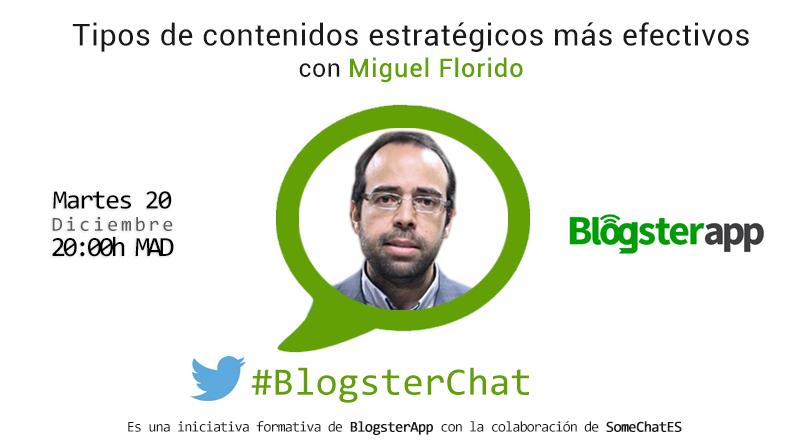 Miguel Florido y #BlogsterChat