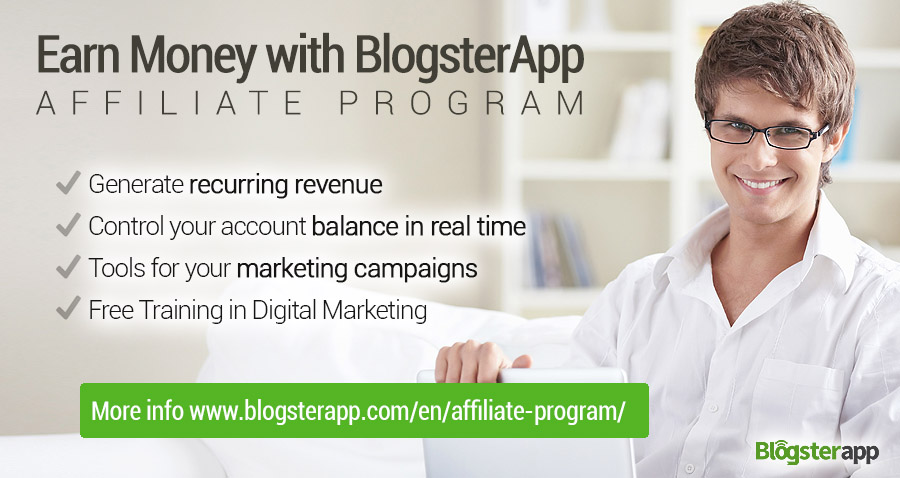 BlogsterApp\'s Affiliate Program