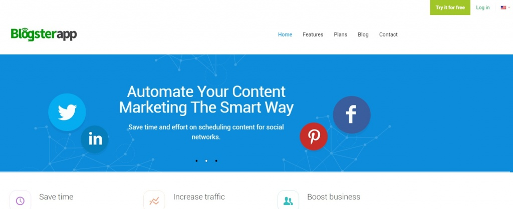 BlogsterApp - Automated Content Distribution for your blog