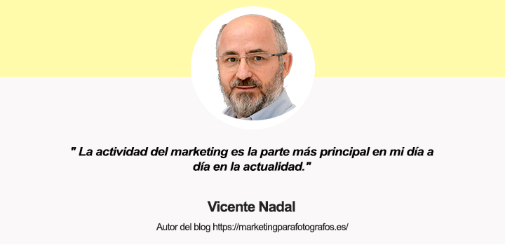 Entrevista a Vicente Nadal, autor de Marketing Para Fotógrafos