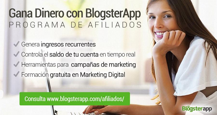 Ganar dinero por internet con BlogsterApp