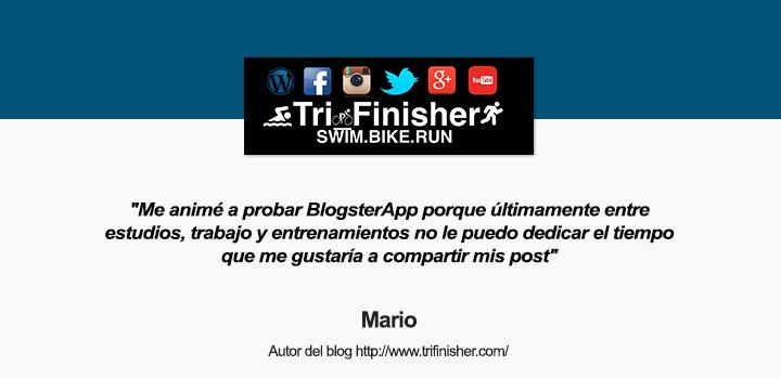 BlogsterApp entrevista trifinisher