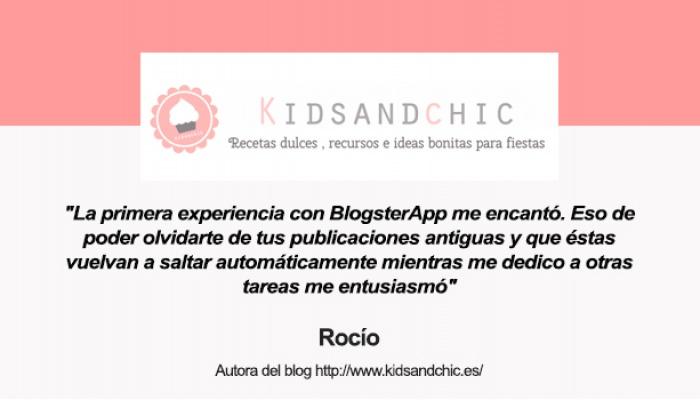 Rocio autora del blog Kids and Chic
