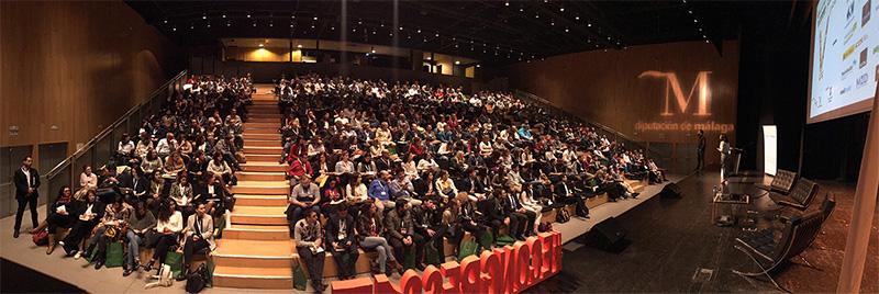 Ponencias durante el eCongress Málaga