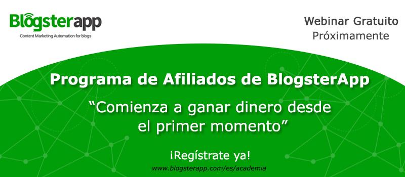 gana dinero recomendando BlogsterApp