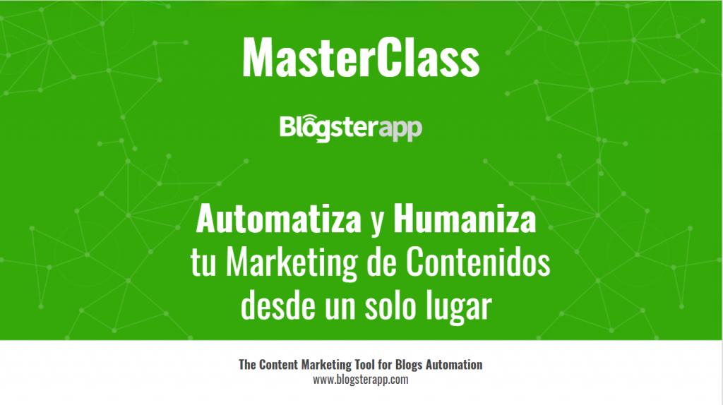 Masterclass blogsterapp