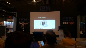 Ponencia de Esmeralda Díaz-Aroca en OMExpo 2017