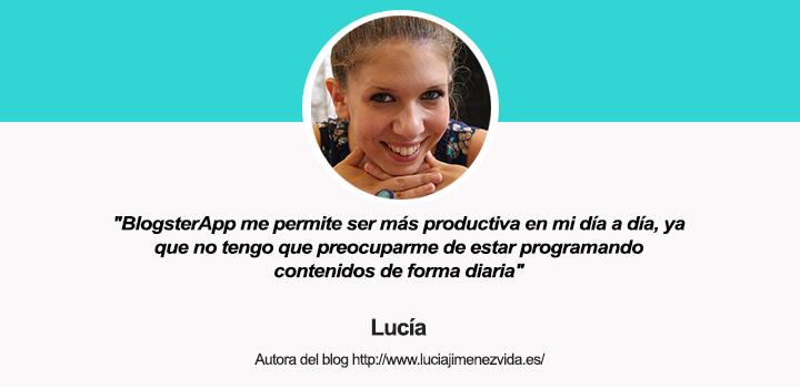 Entrevista a Lucía Jiménez Vida