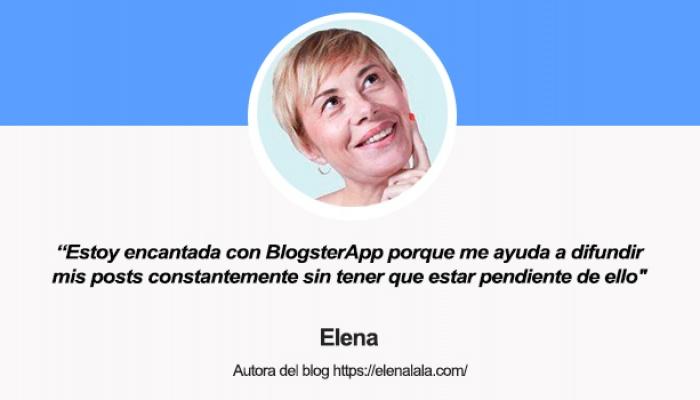 Entrevista a Elena, autora del blog Elenalala