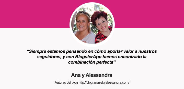 Entrevista a las autoras del blog Ana Sek y Alessandra