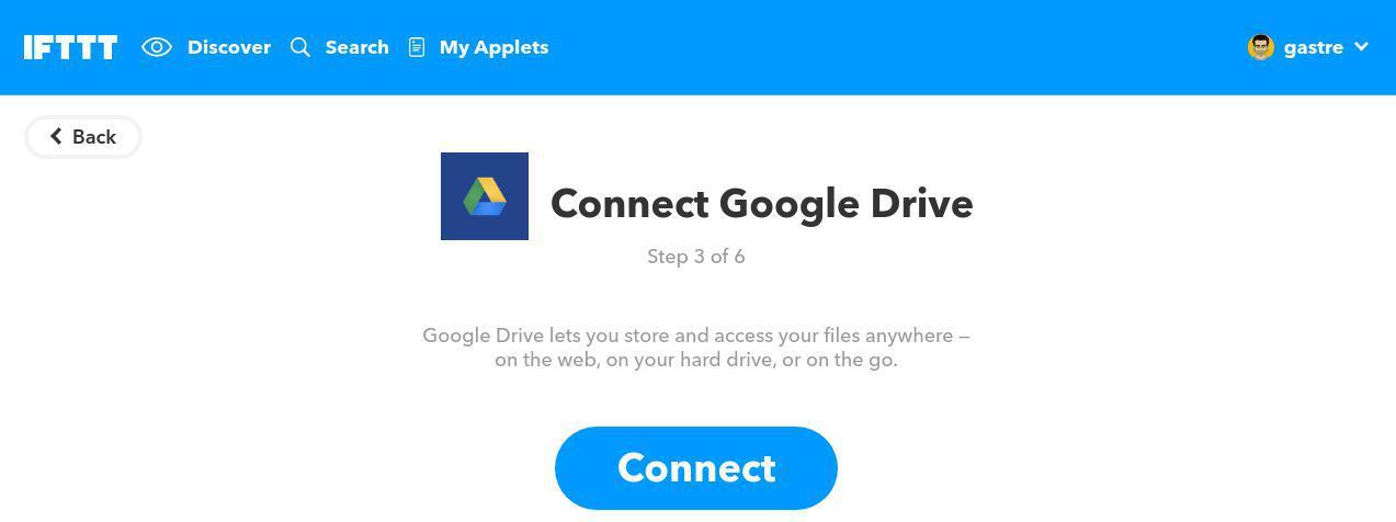 Cómo comprimir imágenes: conectar IFTTT con Google Drive