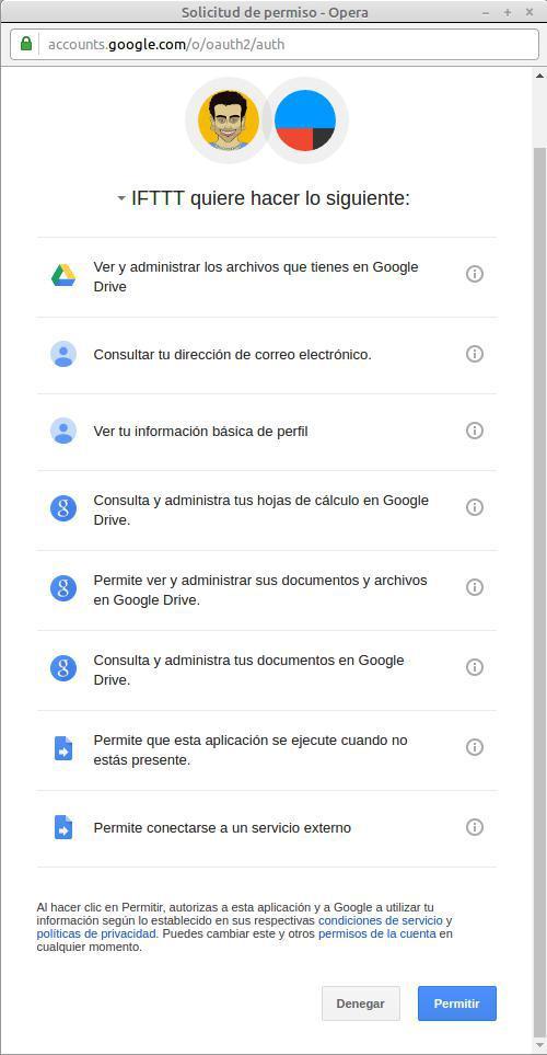 Cómo comprimir imágenes: conectar tu cuenta de gmail a IFTTT