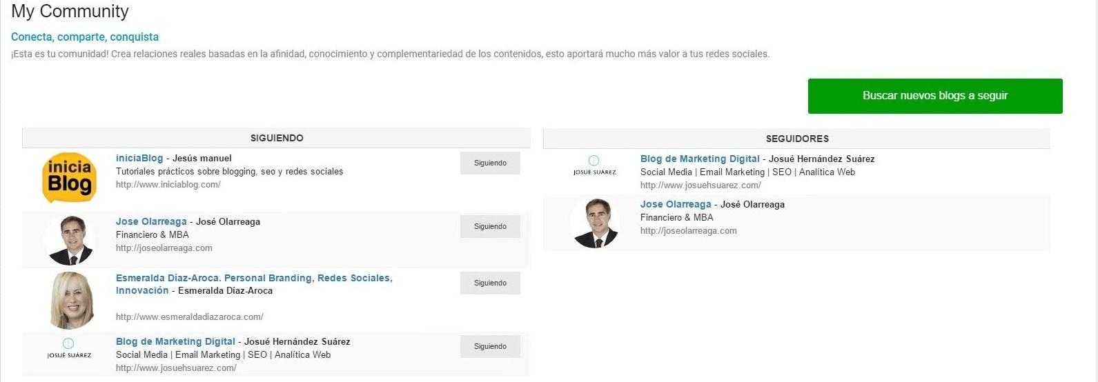 Crea tu propia comunidad con My Community de BlogsterApp