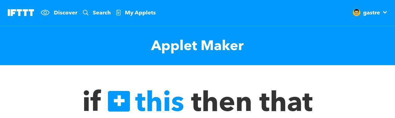 Cómo comprimir imágenes: crear nuestro primer applet con IFTTT