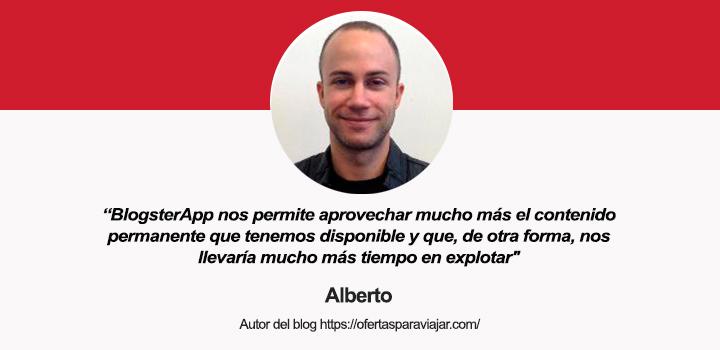Entrevista a Alberto R. Orihuela, autor del blog Ofertas para Viajar