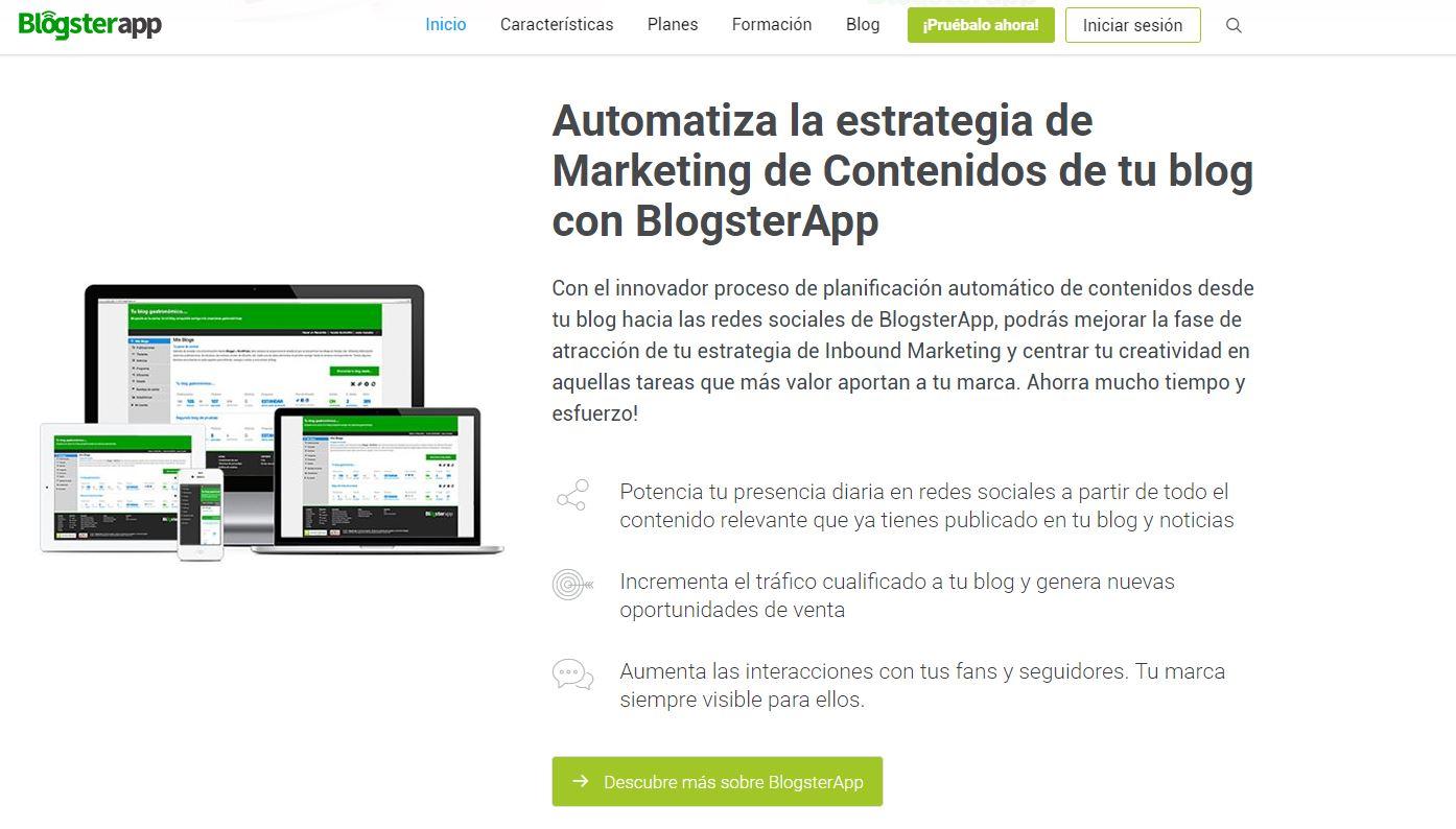 BlogsterApp como herramienta para Community Managers