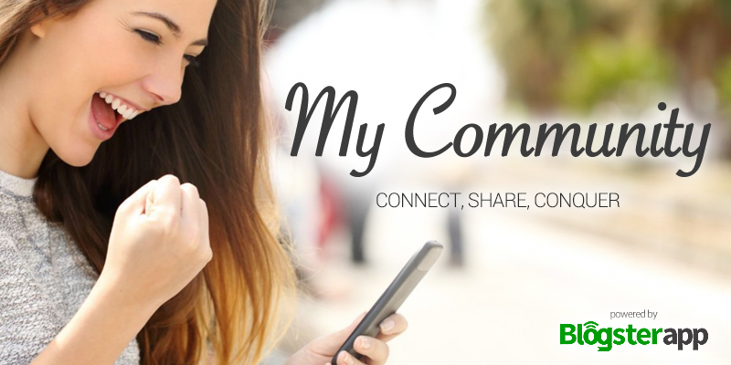 My Community  - Blogsterapp