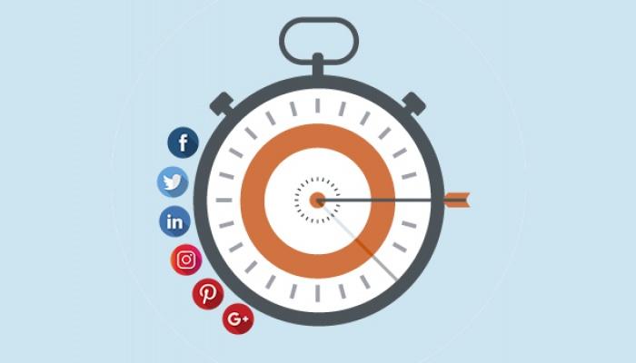 ¿Cuáles son los mejores horarios para publicar en redes sociales?