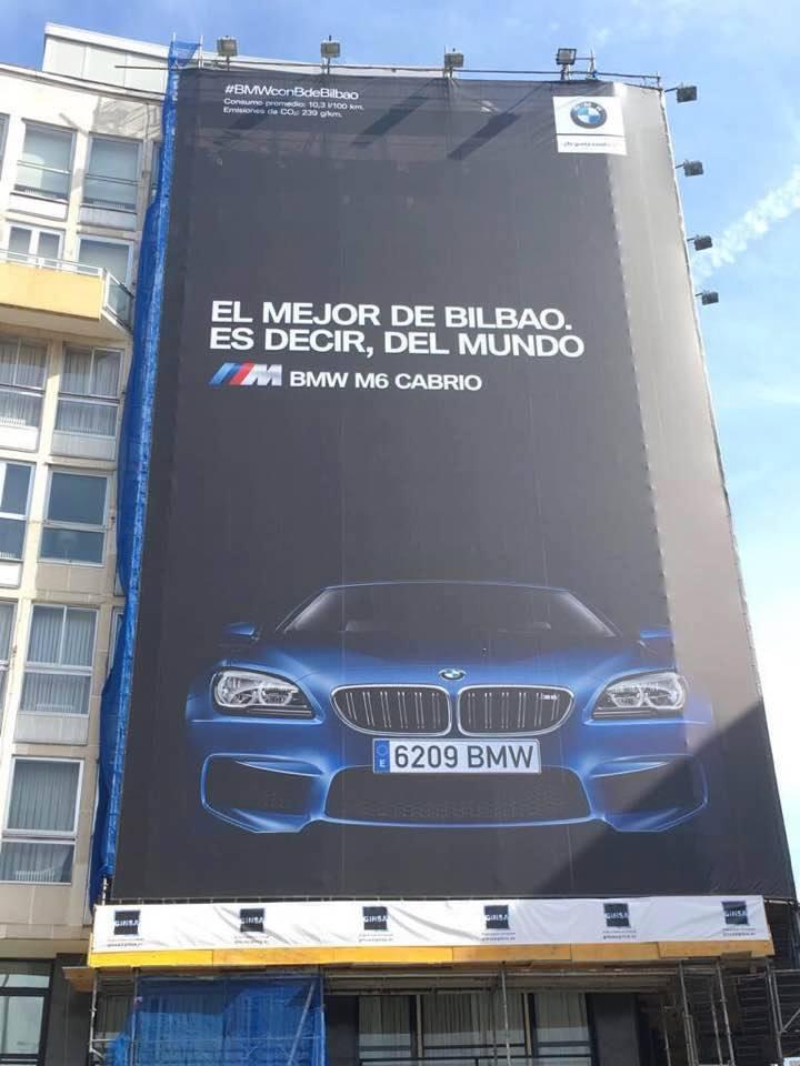 Ejemplo de copywriting en BMW Bilbao