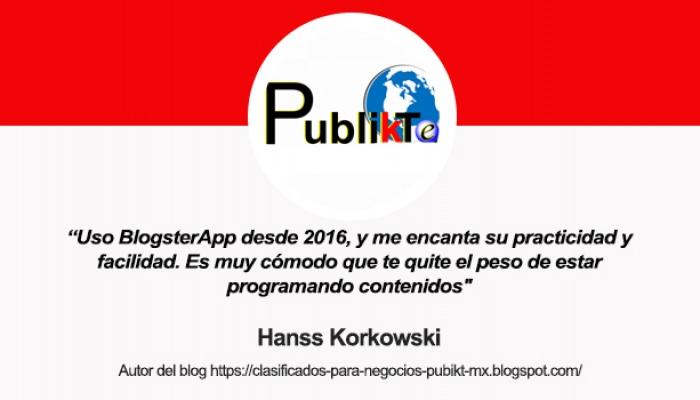 Entrevista a Hanss, de publikt mexico