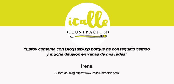 Entrevista a Irene, de ICalle Ilustración