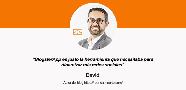 Entrevista a David Garrido, autor del blog sobre coaching Reencaminarte