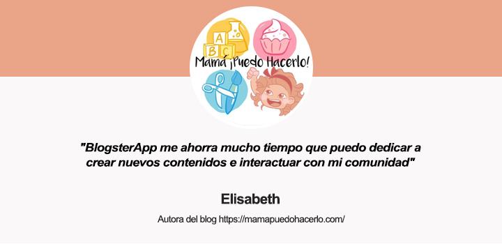Entrevista a Elisabeth, autora del blog Mamá ¡Puedo hacerlo!