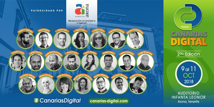 Llega la II Edición de Canarias Digital