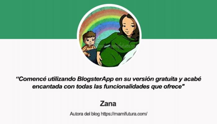 Entrevista a Zana, autora del blog Mamifutura