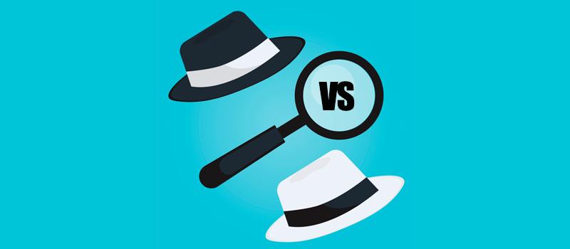 Características de White Hat SEO y Black Hat SEO
