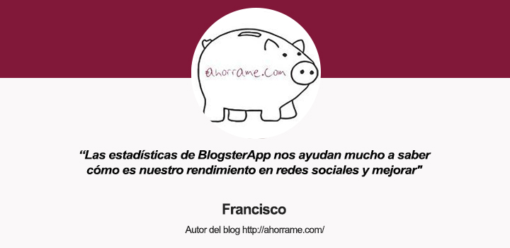 Hablamos con Francisco, autor del blog Ahórrame