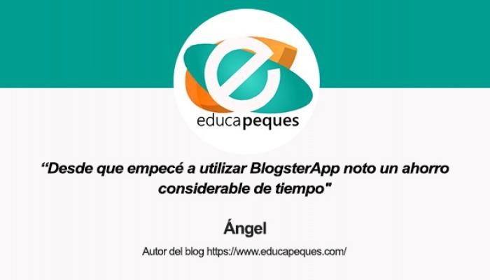 Entrevista a Ángel, autor de Educapeques