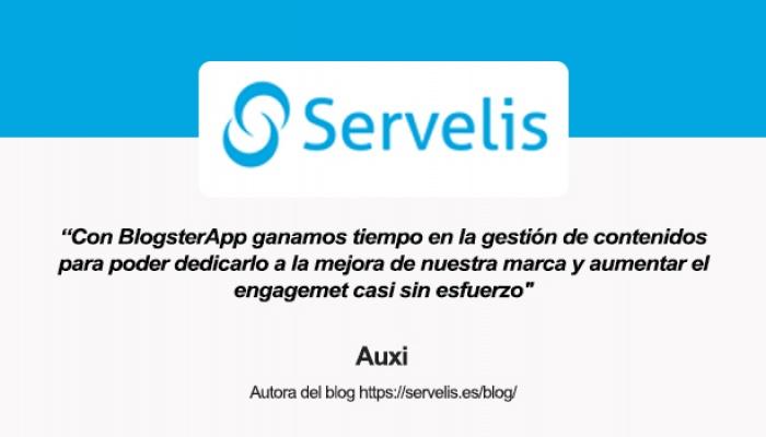 Entrevista a Auxi, autora del blog de Servelis