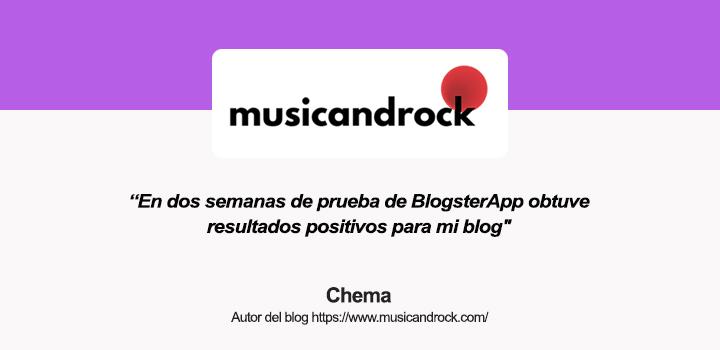 Entrevista a Chema, autor del blog Music and Rock
