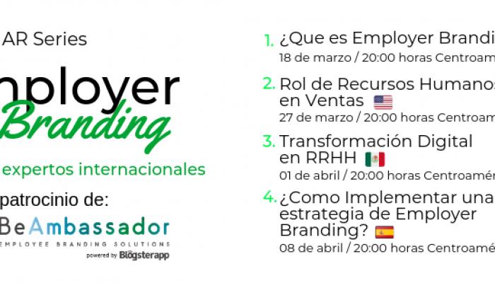 Serie de webinars sobre Employer Branding