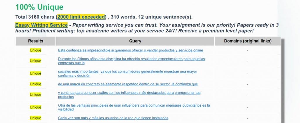 Detecta contenido duplicado en otras webs con Plagiarism