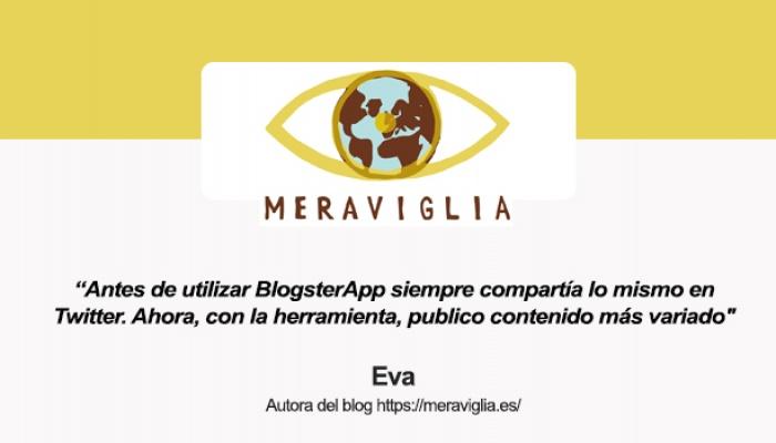 Hablamos con Eva, autora del blog Meraviglia